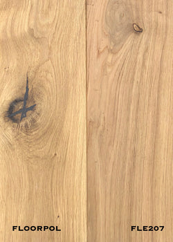 ENGINEERED OAK, RUSTIC GRADE FLE207