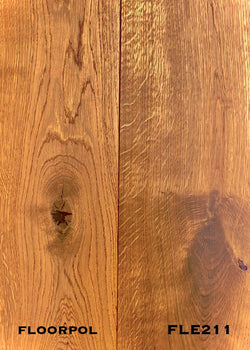 ENGINEERED OAK, RUSTIC GRADE FLE211