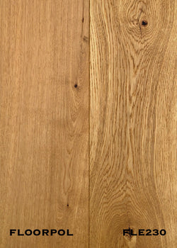 ENGINEERED OAK, RUSTIC GRADE FLE230