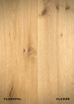 ENGINEERED OAK, RUSTIC GRADE FLE249