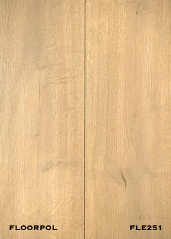 ENGINEERED OAK, RUSTIC GRADE FLE251