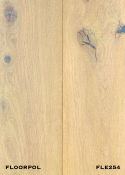 ENGINEERED OAK, RUSTIC GRADE FLE254