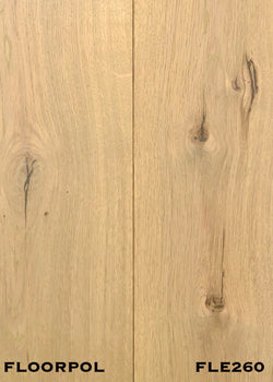 ENGINEERED OAK, RUSTIC GRADE FLE260