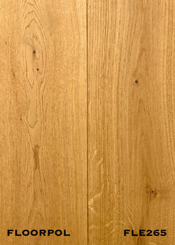 ENGINEERED OAK, RUSTIC GRADE FLE265