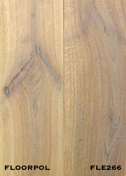 ENGINEERED OAK, RUSTIC GRADE FLE266