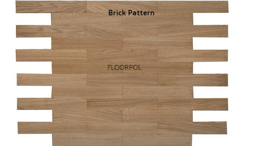 MOSAIC PARQUET, OAK, UNFINISHED, NATURAL GRADE