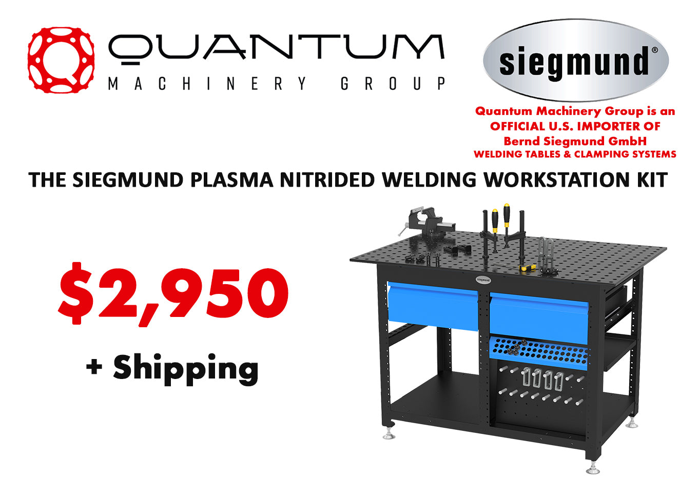 Siegmund Welding Tables USA   The Strongest, Most Accurate