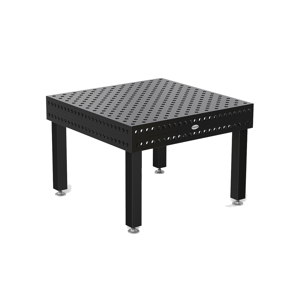 "System 28 1200x1200mm (47""x47"" / 4'x4') Siegmund Welding Table with Plasma Nitration (Item No. 4-280015.XD7) System 28 Welding Tables - Quantum Machinery Group: Official Siegmund US Welding Tables and Fixtures Division"
