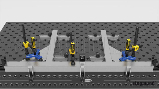 2-280211: 3P Clamping Bridge for Screw Clamps