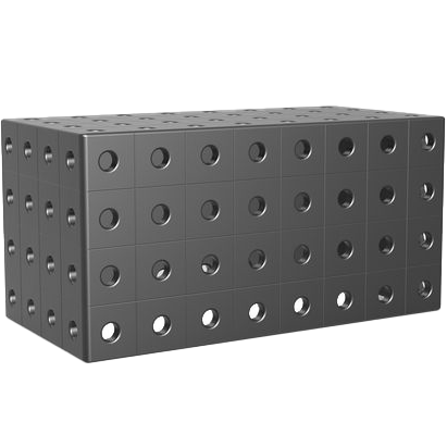 2-160272.P: 400x200x200mm Riser Block (Plasma Nitrided)