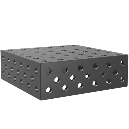 2-160280.P: 300x300x100mm Riser Block (Plasma Nitrided)