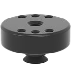 2-160715: Ø 48 / 15 Adapter with Hole Pattern (Burnished)