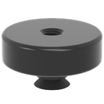 2-160720: Ø 48 / 15 Blank Adapter without Hole Pattern (Burnished)