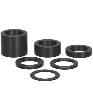 2-160821.2: 6 Piece Washer Set / Supports
