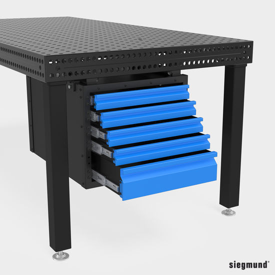 2-160900: Sub Table Box for the System 16 Welding Tables