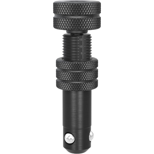 2-220573: Long, Adjustable Fast Clamping Bolt without Slot (Burnished)