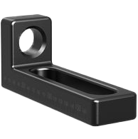 2-280109.N: 175mm SL Stop and Clamping Square (Nitrided)