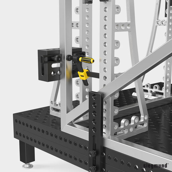 2-280300.N: 300x200x100mm Right Support and Clamping Frame Riser Block (Nitrided)