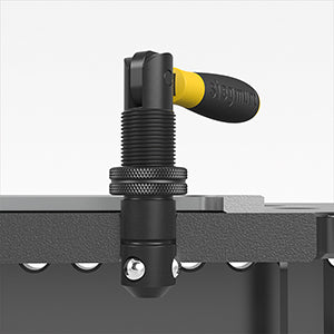 Fast Clamping Bolt with Handle for System 28 (Item No. 2-280516)