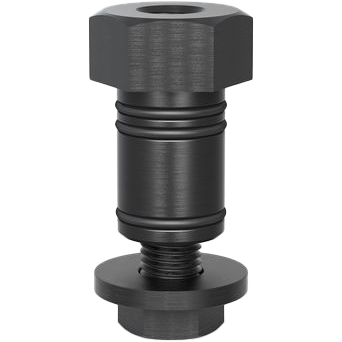 2-280550.1: Short Hexagonal Connecting Bolt (Burnished)