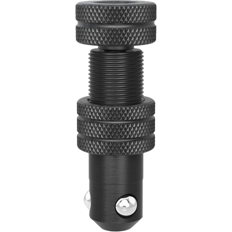 2-280571: Short Adjustable Fast Clamping Bolt without Slot (Burnished)