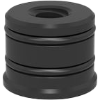 2-280619: Tr 12x3mm Thread Bushing
