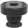 2-280715: Ø 50/15 Adapter with Hole Pattern for Toggle Clamps (Burnished)