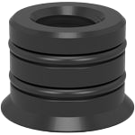 2-280825: M16 Thread Bushing (Burnished)