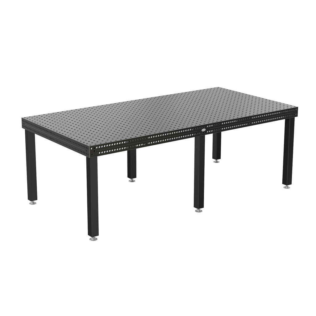 "System 16 2400x1200mm (94""x47"") Siegmund Welding Table with Plasma Nitration (Item No. 4-160030.X7) System 16 Welding Tables - Quantum Machinery Group: Official Siegmund US Welding Tables and Fixtures Division"