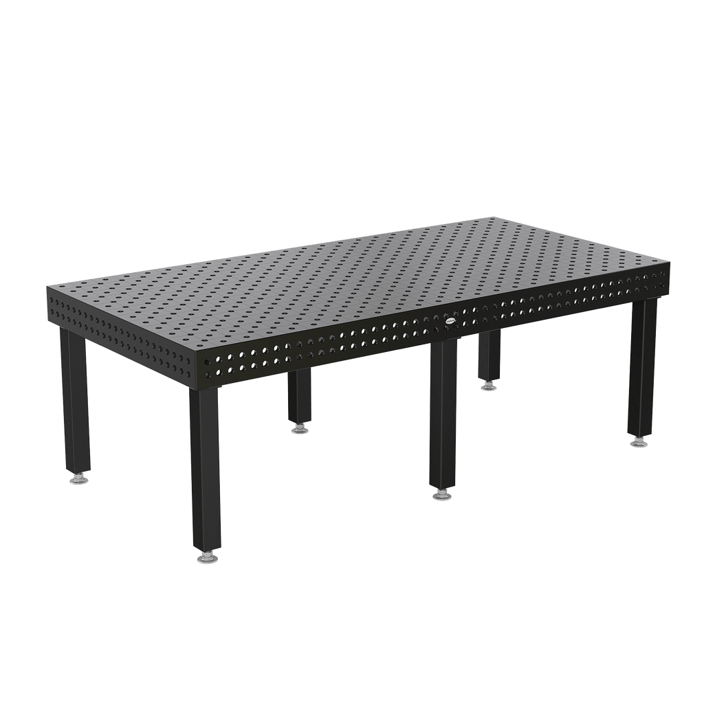 "System 22 2400x1200mm (94""x47"") Siegmund Welding Table with Plasma Nitration (Item No. 4-220030.PD) System 22 Welding Tables - Quantum Machinery Group: Official Siegmund US Welding Tables and Fixtures Division"