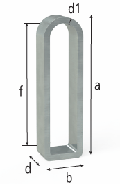 2-280416: 25x140mm Flex Stop (Galvanized Steel)