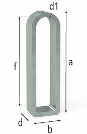 2-280418: 50x140mm Flex Stop (Galvanized Steel)