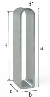 2-280417: 50x182mm Flex Stop (Galvanized Steel)