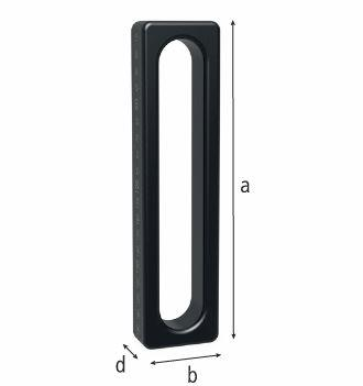 "Universal Stop 200 L (7.87"") - Nitrided (Item No. 2-280410.1.N)"
