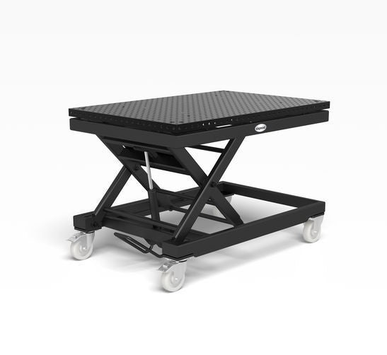 System 16 Heavy-duty mobile lifting table incl. Basic work top 1500x1000x50(Item No. 2-HS161035.P)
