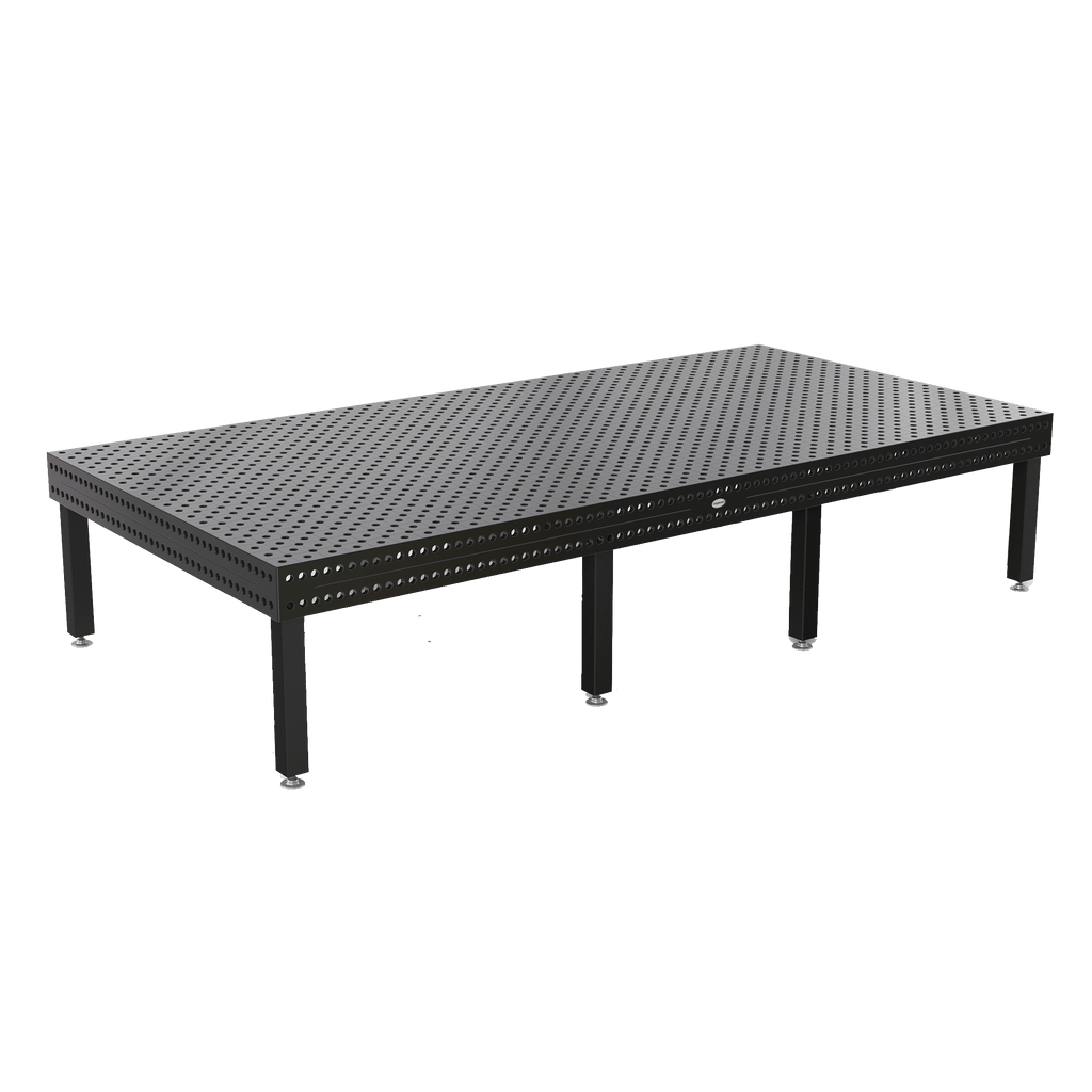 "System 28 4000x2000mm (157""x78"") Siegmund Welding Table w/ Plasma Nitration (Item No. 4-280055.XD7) System 28 Welding Tables - Quantum Machinery Group: Official Siegmund US Welding Tables and Fixtures Division"