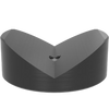 "US160652.1: 3.15"" Ø Prism 120° with Screwed-In Collar (Burnished / Nitrided)"