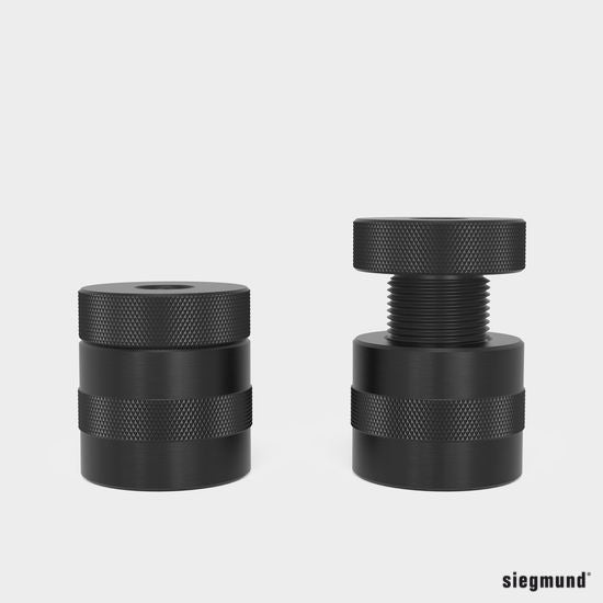 "US160822: 2"" Screw Support (Burnished)"