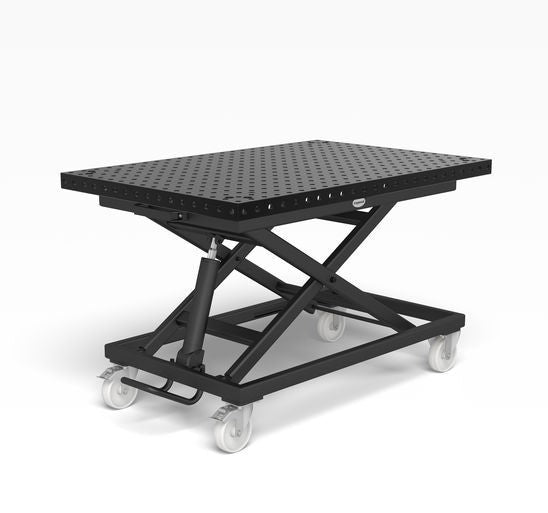 System 16 Mobile lifting table incl. Basic work top 1200x800x50 (Item No. 2-HT161025.P)