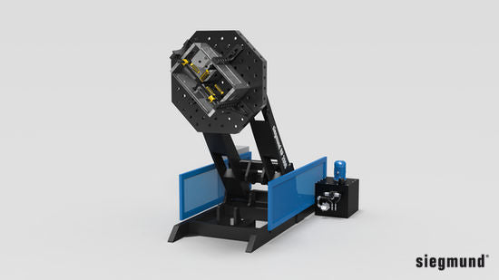 RP 1250 Roto-Positioner (without Welding Table Top) Max. Load Capacity: 2,750 lbs. / 1,250 kg. (Item No. 6R120016)