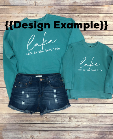 Lake Life Pullover