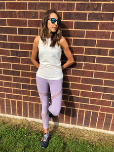 Lavendar Athletic Leggings