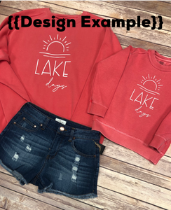 Lake Days Pullover