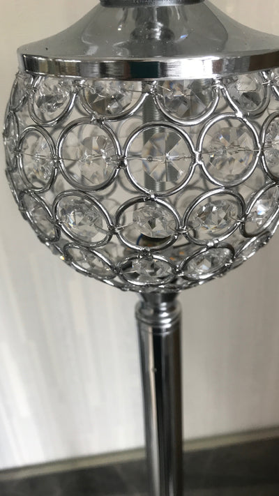 Crystallic Metal Lamp with LED in body [1090S]