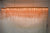 Rose Gold LED Chain Hanging Pendant Ceiling Light 148 x 34 x 13 (3033-150)
