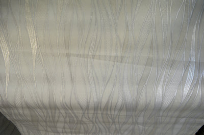 Vertical imprint in white and grey luxury wallpaper