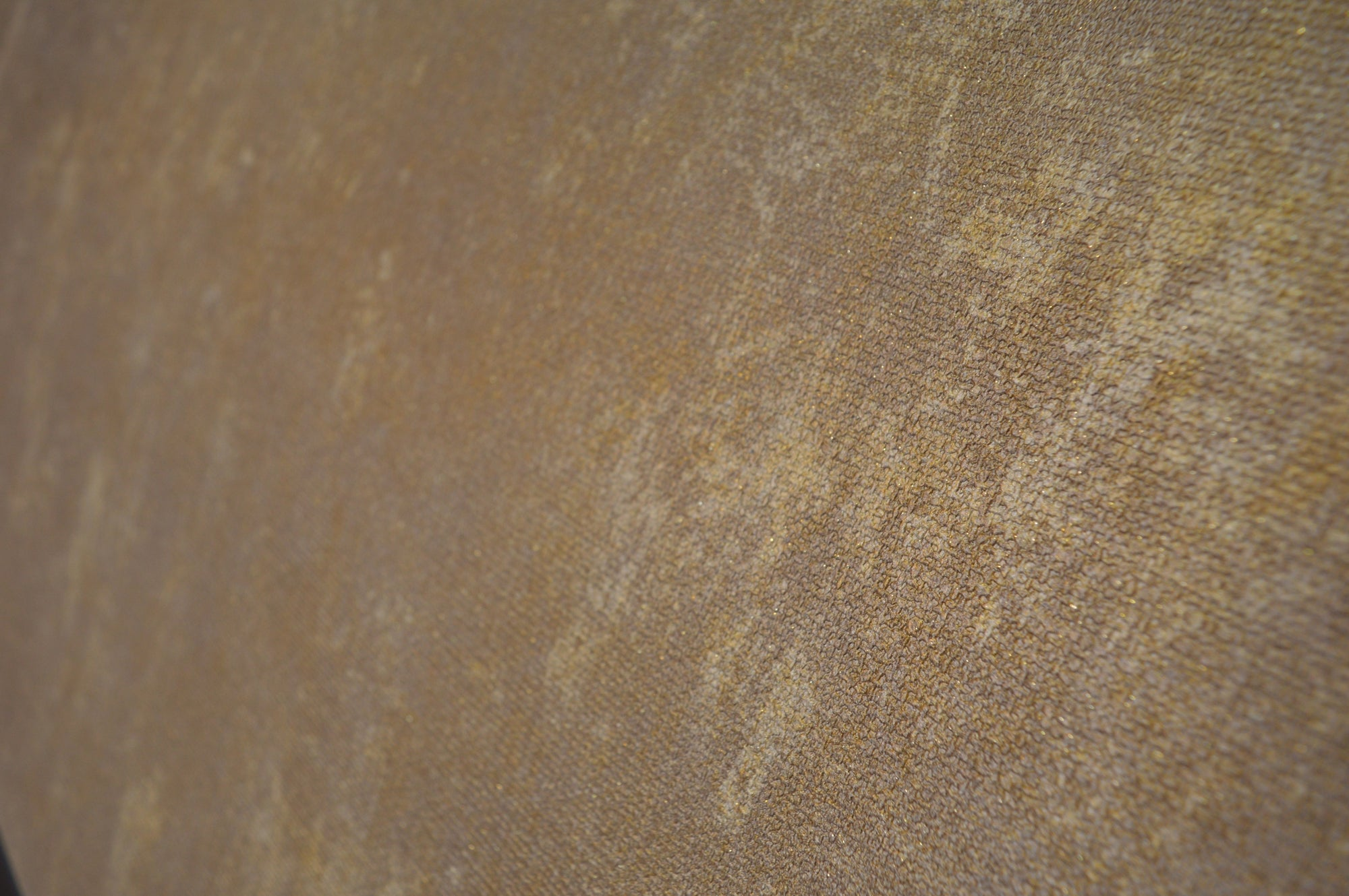Coarsed rusty imprint luxury dark beige wallpaper