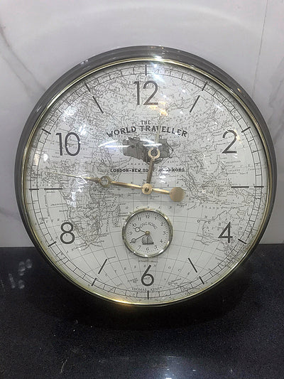 Thomas Kent World Traveller Clock
