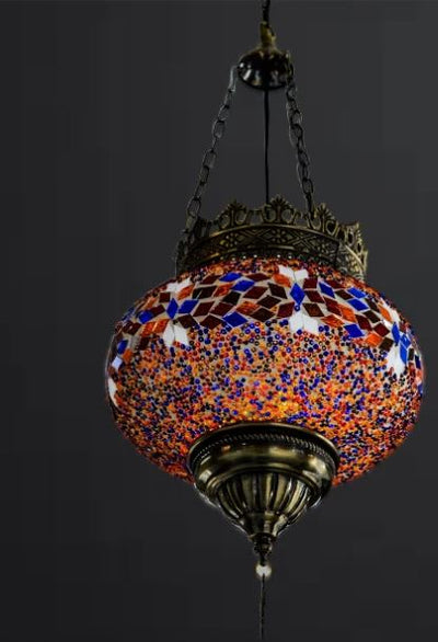 Small globe Turkish Pendant Light