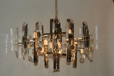 Crystallic Shield / Shielded Bulbs Modern Chandelier [D8069-8]